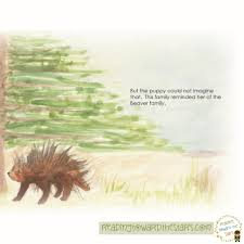 Porcupine Eating Pumpkin And Talking by June 2014 This Literacy Life