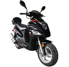 BEAR Falcon 150cc Moped Scooter Fully Automatic CVT LED Lights
