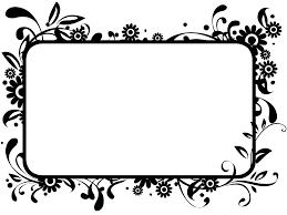 Wedding clipart border 4