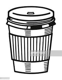 Paper Coffee Cup Vector Art And Graphics