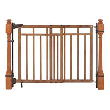 Summer Infant 32-48 Inch Banister And Stair Gate With Dual ... Baby Gate For Stairs With Banister Ipirations Best Gates How To Install On Stairway Railing Banisters Without Model Staircase Ideas Bottom Of House Exterior And Interior Keep A Diy Chris Loves Julia Baby Gates For Top Of Stairs With Banisters Carkajanscom Top Latest Door Stair Design Wooden Rs Floral The Retractable Gate Regalo 2642 Or Walls Cardinal Special Child Safety Walmartcom Designs