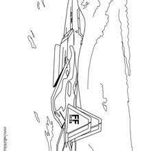 Army Truck Fighter Coloring Page