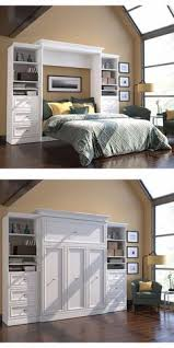 This wall bed is a great way to organize and sort your space so eve
