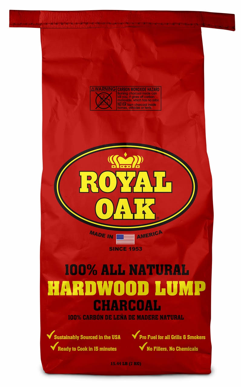 Royal Oak 100% All Natural Hardwood Lump Charcoal - 7kg