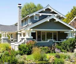 Photo Of Craftsman House Exterior Colors Ideas by White Five Glass Window Exterior Paint Combinations Green