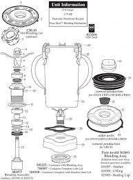 Parts Town Waring CB15 Blender Manual