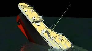 3d titanic sinking animation hd youtube