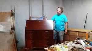 Governor Winthrop Desk Furniture by Refinishing A Mahogany Secretary Desk At Timeless Arts Refinishing