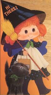 Vintage Halloween Collector Weeny Witch by 8 Best Vintage Halloween Decorations Cards 1950s 1960s Images On