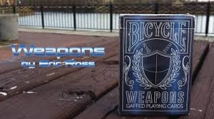 Bicycle Gaff Deck Uspcc by Bicycle Weapons Eric Ross Gaff Deck Arteco Production Youtube