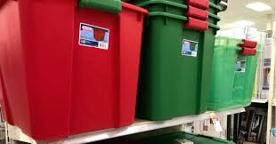 Storage Totes On Sale Target Gallon W Lid Only 5 More Christmas Tree Bag