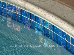 brilliant decoration waterline pool tiles beauteous lightstreams