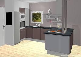 cuisine moderne design avec ilot cuisine moderne design avec ilot 1 cuisine en u stratifie fonce