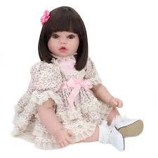 18u201d African American Ethnic Lifelike Reborn Baby Doll Body Silicone