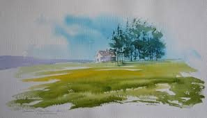 Pictures Easy Landscape By Watercolor Hd