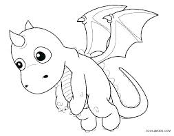 Dragonfly Coloring Pages Dragon Baby