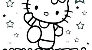 Kitten Coloring Pages To Print Printable Cute