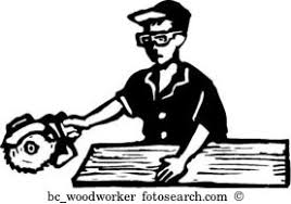 Woodworker Clipart And Illustration 2501 Clip Art