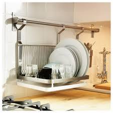 Genuine Kitchen Mounted Ikea Dish Rack Wall Mounted Dishrack