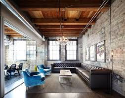 Example Of A Large Urban Dark Wood Floor Living Room Design In Dallas