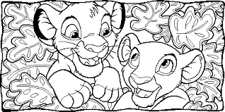 Stylish Design Ideas Lion King Coloring Pages