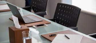 Leather Desk Blotter Australia by Rigid Leather Desk Pad