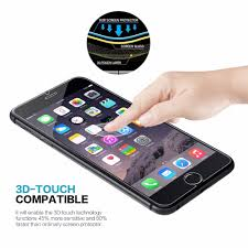 Premium Tempered Glass Screen Protector for iPhone 6 6S Plus 5 5