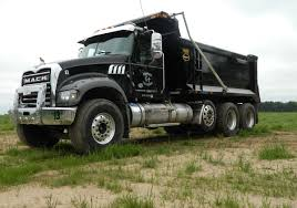 100 Tri Axle Dump Trucks Our Fleet Of For Hire Garman Trucking LLC