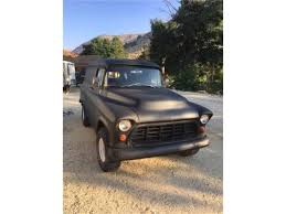 100 1957 Chevy Panel Truck For Sale Chevrolet For ClassicCarscom CC1081323