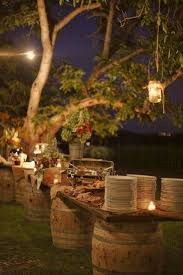 Country Wedding Outdoor Decorations Interesting Ways Of Using Wine Barrels In Home Dcor
