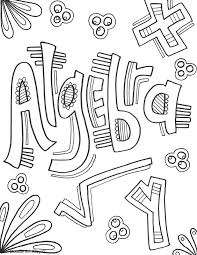 Picture Algebra Coloring Page