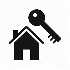 House Key New Home Icon