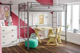 Canwood Whistler Junior Loft Bed White by Loft Bed Girls Loft Beds For Teens Berg Furniture Play And Study