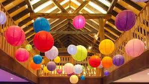 Paper Lanterns For Wedding Party Festival Decoration Can Mix And
