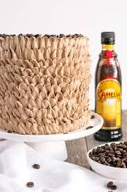Kahlua Cake With Mocha Buttercream Liv for Cake