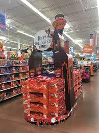 Hersheys Modular Halloween Candy Display In Walmart 914 Cassville MO