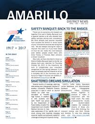 Amarillo District Quarterly Newsletter, June 2017 By TxDOT ... Amarillo Magazine September 2017 By Issuu F On The Third Floor Of City Hall At 509 Southeast 7th Avenue With 201314 Symphony Program Asking For Local Otography Submissions We Home Traffic Update Roadway Is Cleared After Cattle Truck Overturns November 2015 Summit Truck Group Watkins Mfg Inc 200 Reed Ave Odessa Tx 79761 Ypcom