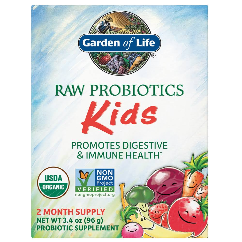 Garden of Life Raw Probiotic Kids Dietary Supplement - 96g