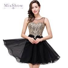 online get cheap black lace homecoming dress aliexpress com
