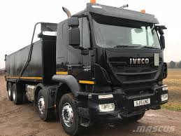 Iveco Trakker 450 E6 EURO 6 8x4 Tipper With Sleeper Cab LE65 2TT ...