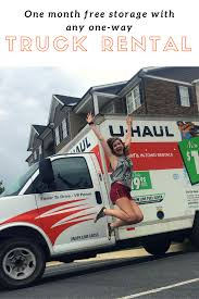 If You Rent A One-way U-Haul Truck For Your Upcoming Move, You'll ...