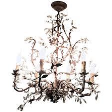 Swarovski Crystal Lamp Finials by Viyet Designer Furniture Lighting Mechini Six Light