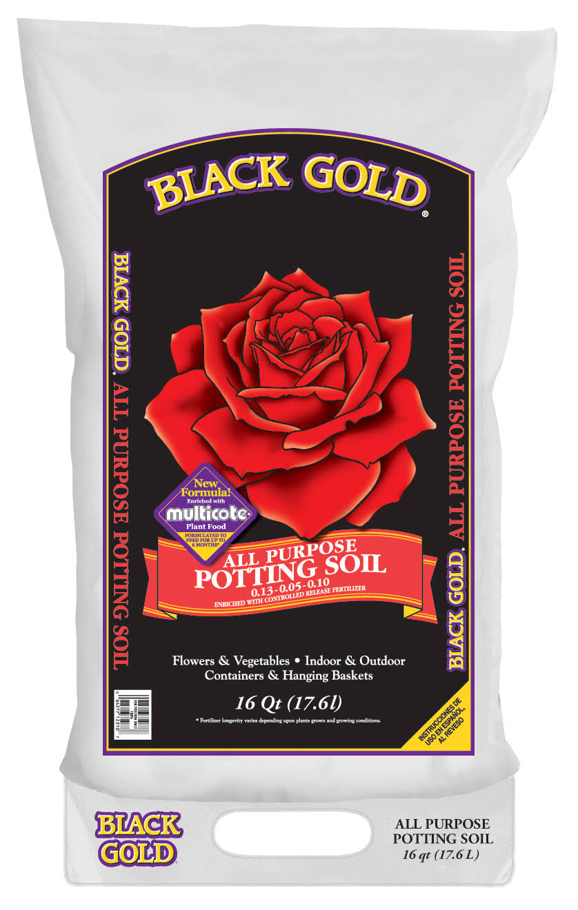 Black Gold All Purpose Potting Soil - 16 Quart