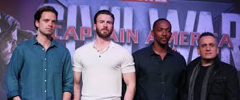 Every Time A Movie Junket Is Announced Everyone Wonders Who Besides The Lead Actor Would Be Coming Along For Captain America Civil War Only Team Cap