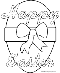 Easter Web Image Gallery Coloring Pages Free Printable