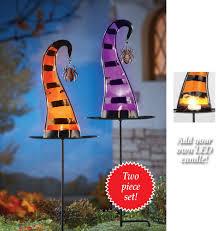 Metal Halloween Yard Stakes by Halloween Outdoor Lighted Displays Halloween Wikii