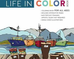 Adult Coloring Book Color Alaska Art Detailed Illustration Original Artwork For