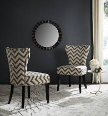 Grey Upholstered Dining Chairs With Nailheads by Set Of 2 Dining Chairs Safavieh Com