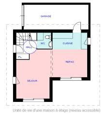 handicap dans maison plan pour maison adaptée à personne handicapé