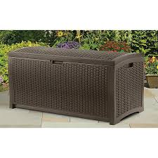 Suncast Patio Storage And Prep by Outdoor Patio Storage Box Home Design Ideas And Pictures